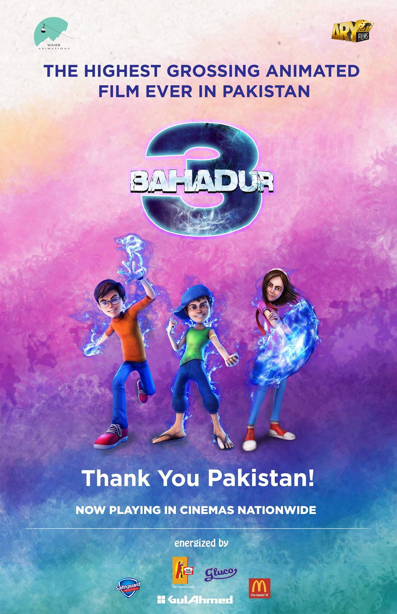 3 Bahadur Is The Highest Grossing Animated Film Ever In Pakistan